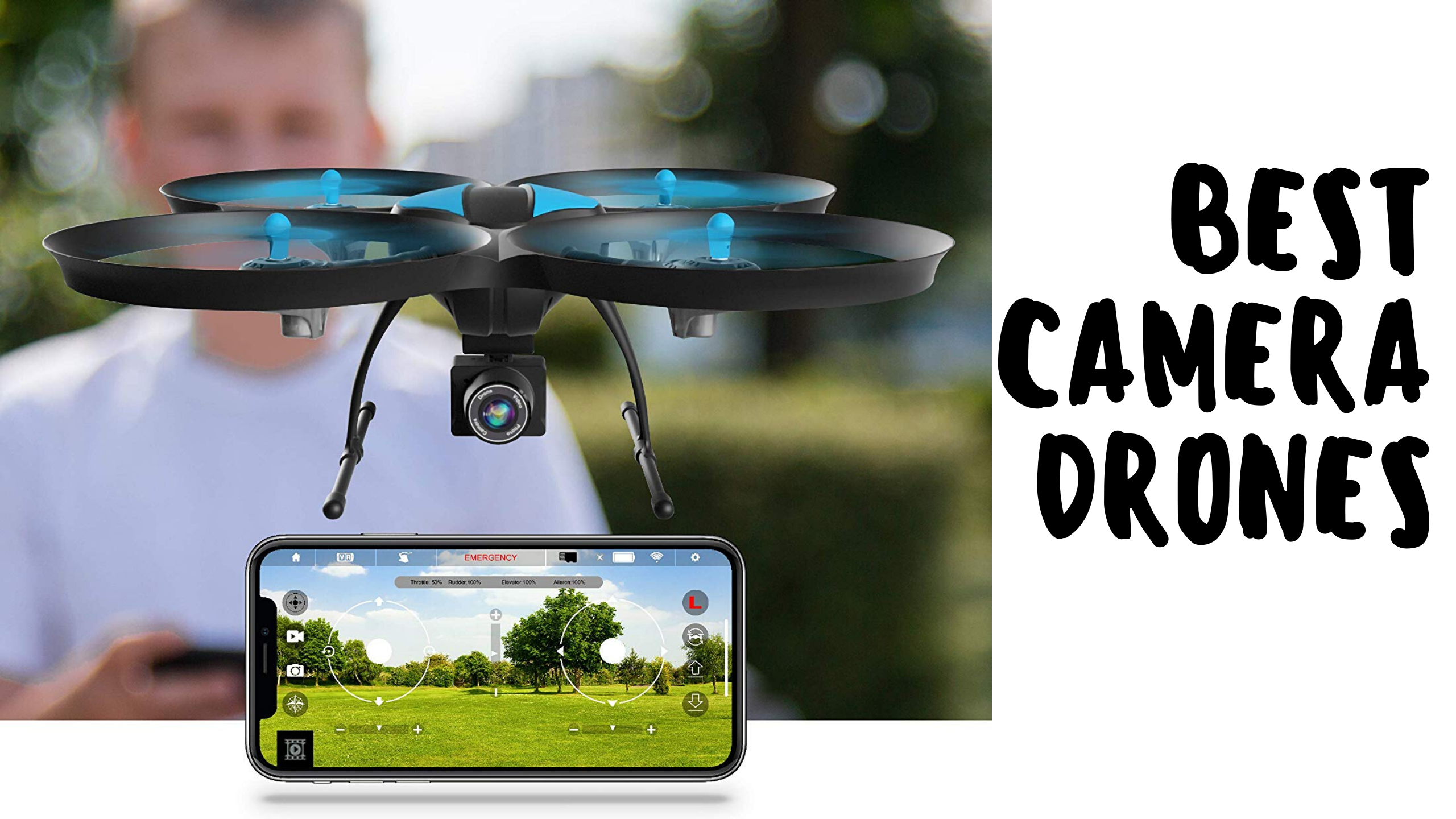 Top 9 Best Camera Drones In 2020 Reviews
