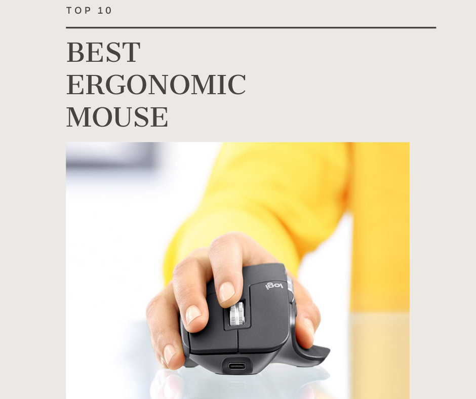 Top 10 Best Ergonomic Mouse In 2021 Reviews
