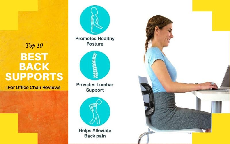 Top 10 Best Back Supports For Office Chair For The Money In 2020 Reviews