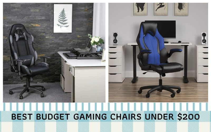 Top 10 Best Budget Gaming Chairs Under $200 In 2021 Reviews
