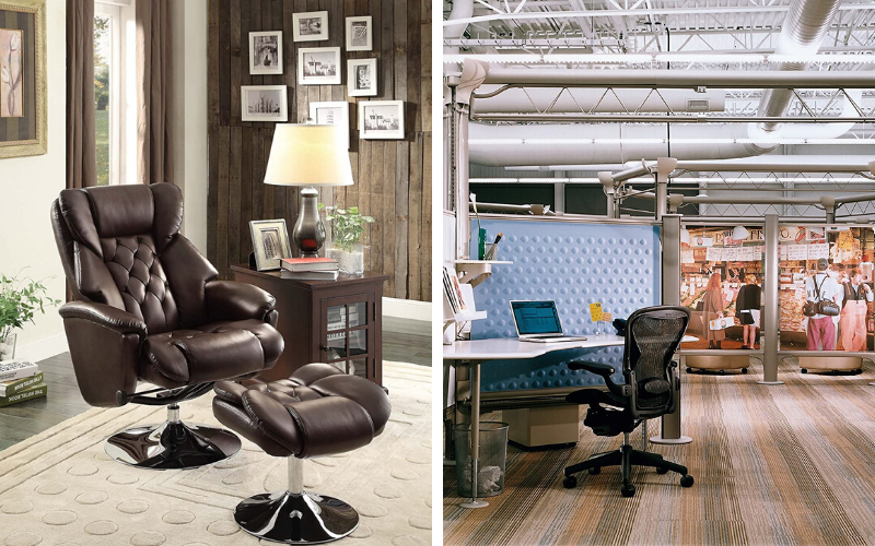 Best Reclining Office Chairs with Footrests Style
