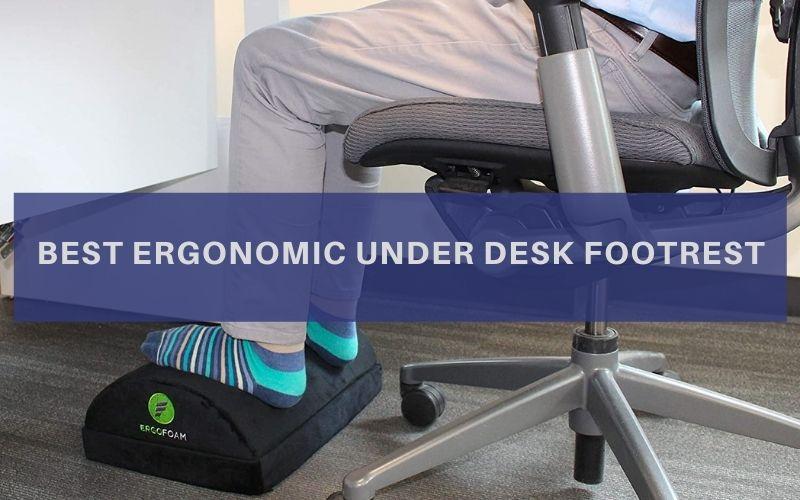 Ergonomic Under Desk Footrest