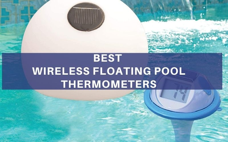 Wireless Floating Pool Thermometers