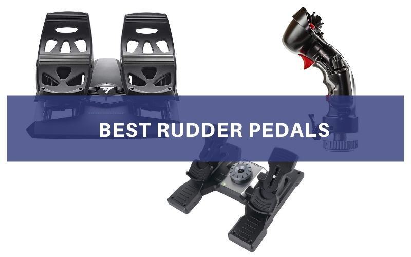 Top 3 Best Rudder Pedals On The Market 2021 Reivew