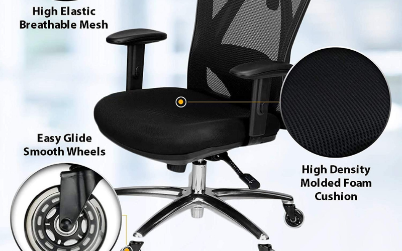 Best Office Chair for Pregnancy Cushioning