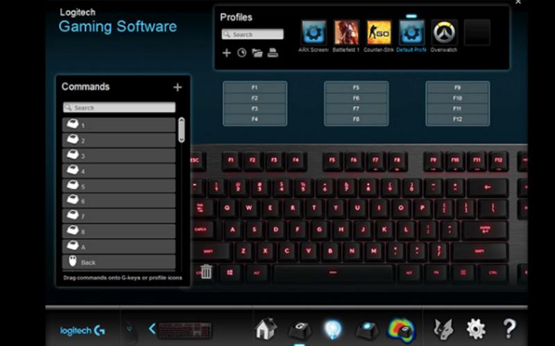 Logitech G413 Software
