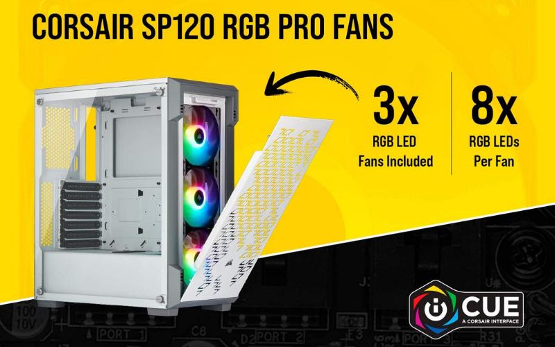 Best Airflow PC Case LED
